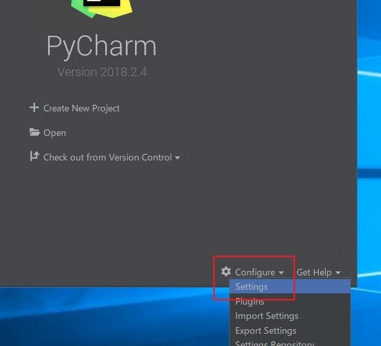 pycharm-settings